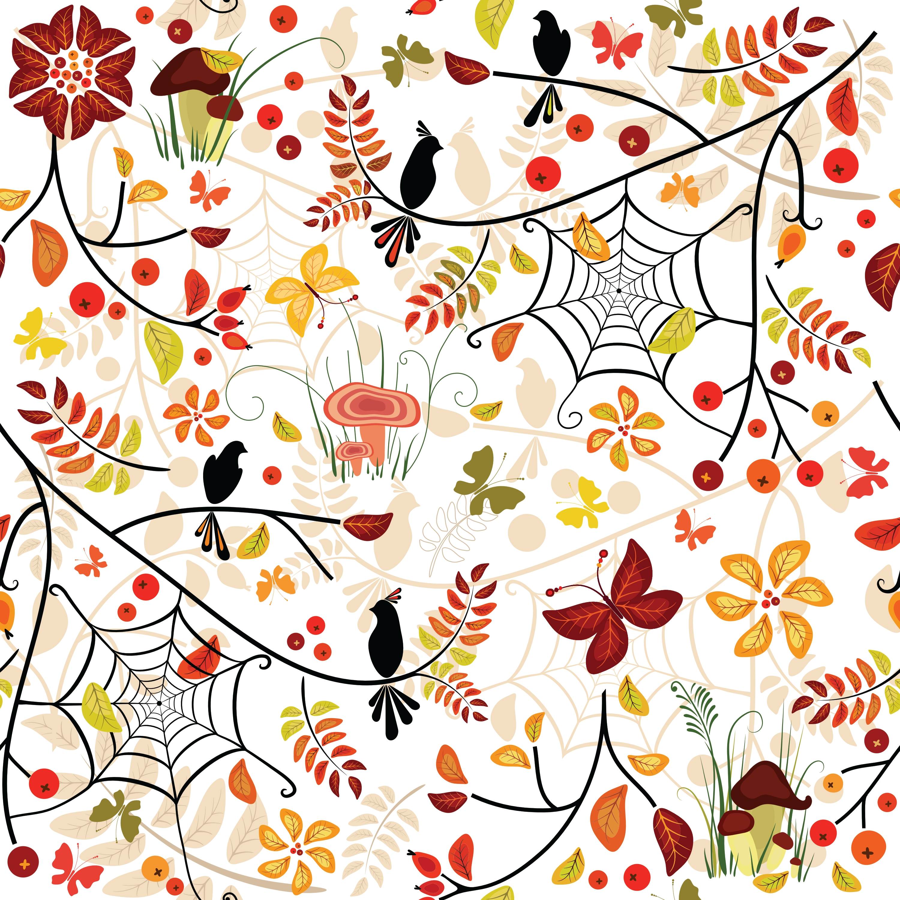 2228-autumn-floral-pattern-seamless-background